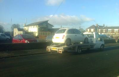 Damaged repairable cars Bought In Leyland, Lancashire – Nissan Micra
